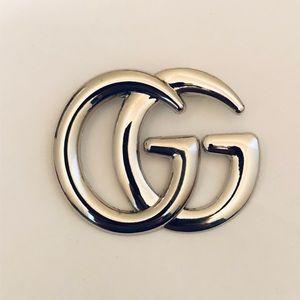 GG Brooch pin Silver NEW